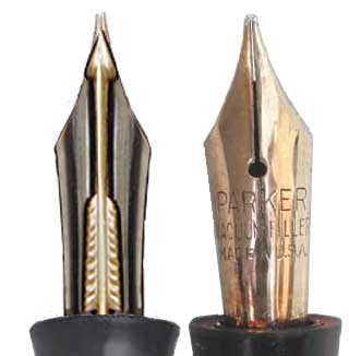 golden arrow nibs