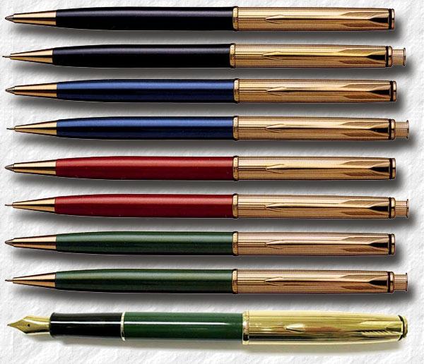 Parker Insignia Custom Finish Green Ballpoint Pen RARE - MADE IN USA