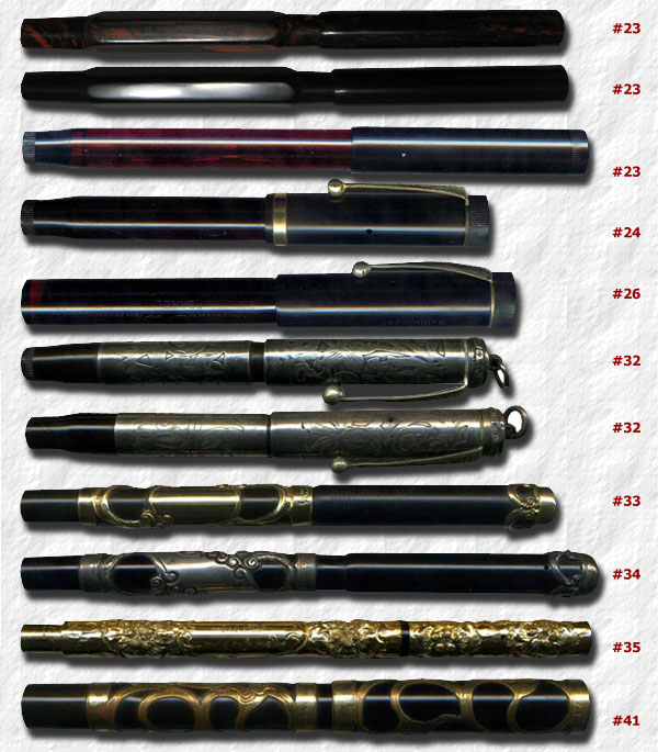 Parker 23 Early Fountain Pen Blind Cap