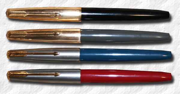 Pilot RMW300 Super 300 Pen Set - 1950s New Old Stock, 14k Nib (Mint